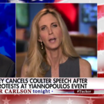 Politics: Defiant Coulter vows to give speech despite cancellation