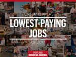 Pay grades: Here are the Portland-area's 27 lowest-paying jobs (Photos)