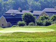 The Ranch Golf Club in Southwick ranks No. 12 on the BBJ's list this year with a men's course rating of 75.