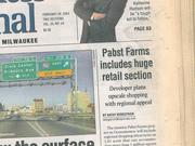 Pabst Farms developers rolled out their bold plans for retail back in 2003.