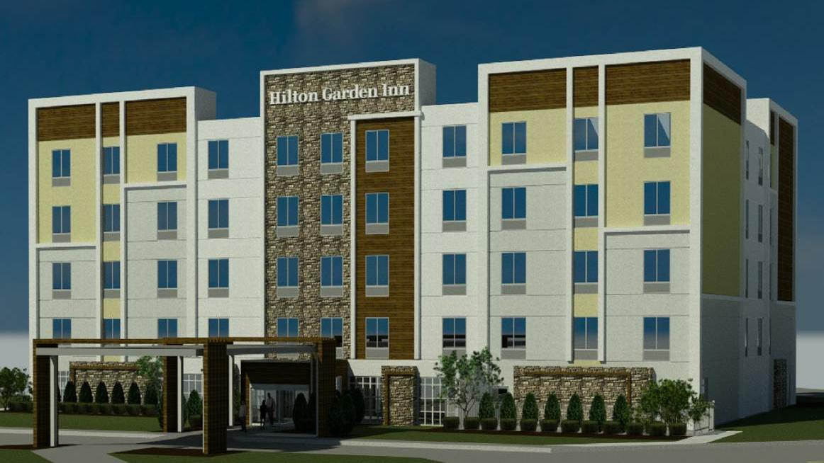 Kmg Hotels Plans Pair Of Hiltons On Vacant Office Site Near Kci Kansas City Business Journal