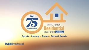 SABJ presents the 2017 Best in Residential Real Estate Awards top agents and teams