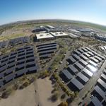 Intel unveils state's largest solar carport installation in Chandler