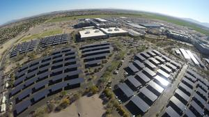 Intel unveils state's largest solar carport installation in Chandler