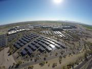 Intel's solar carport installation is the second largest in the U.S. and the largest in the state.