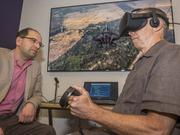 """SparkCognition CEO Amir Husain, left, and Bruce Porter, chief science officer. The AI revolution has """"energized"""" Austin workers, Porter said."""