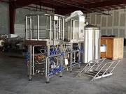 The new start-up brewery called Ellipsis Brewing LLC has started putting its equipment in a new manufacturing facility at 7500 TPC Blvd.