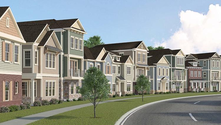David Weekley Homes Planning 133 Town Home Community In