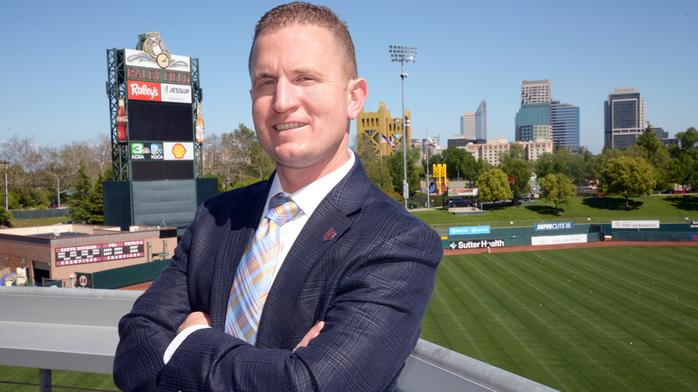 River Cats' general manager focuses on innovation, fan experience