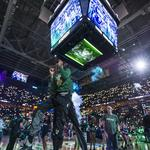 Scenes from the Milwaukee Bucks' blowout playoff win: Slideshow