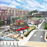 Here are first renderings of the Market Common makeover