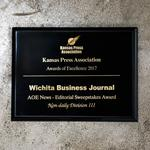 WBJ work selected for 25 awards in 2017 Kansas Press Association contest
