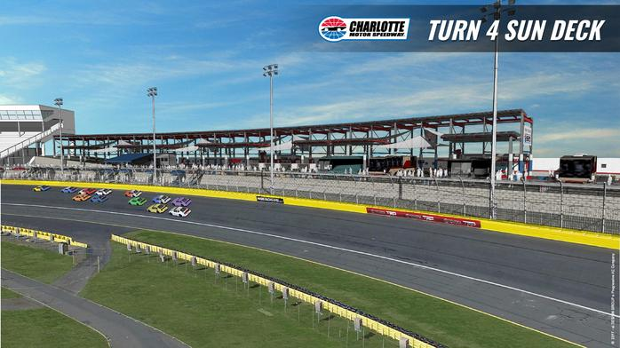 Solar panels, cabanas part of latest changes at CLT speedway