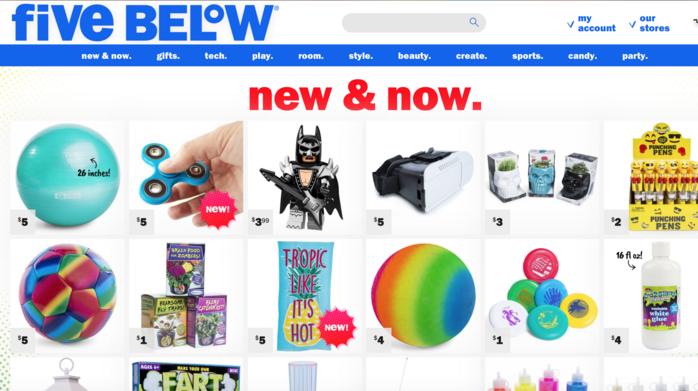 Teen retailer Five Below opens 9 stores in L.A. area