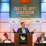 Seth <strong>Davis</strong> brings jokes, tenderness to Kentucky Derby kickoff luncheon (PHOTOS)