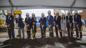 Centene formally breaks ground on $770 million Clayton expansion