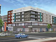 The new Hampton Inn & Suites, a brand of Hilton Hotels & Resorts, will have approximately 145 rooms, with retail space on the first floor.