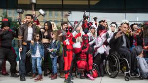 Photos: Super heroes (and comic book fans) unite in San Jose