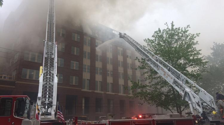 Apartment Building Agreement wood partners' college park apartment building catches fire