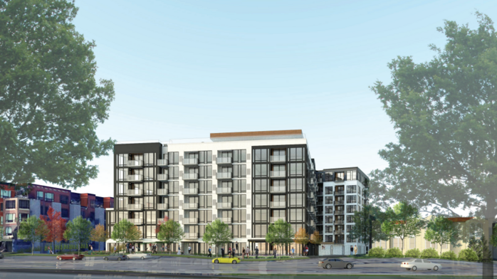 Developer plans to replace Lake Calhoun office building with eight-story apartment complex