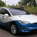 Transit authority deploys four Tesla SUVs around USF (Photos)