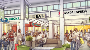 ​Sneak peek at what Iverson Mall will look like after its overhaul