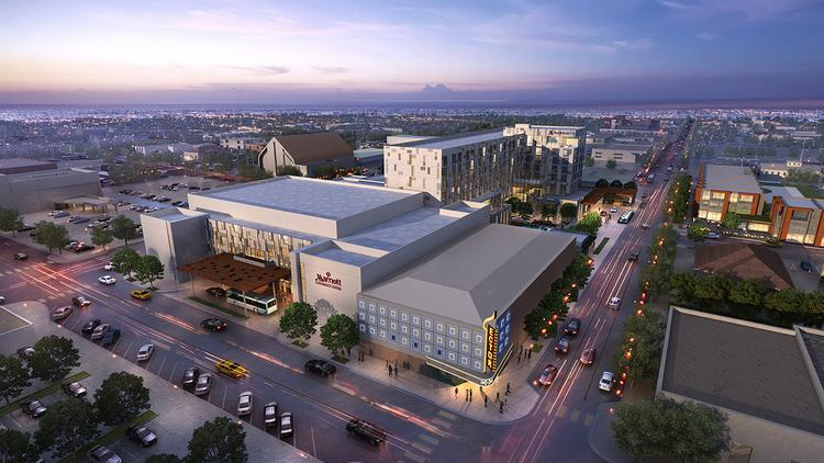 Dallas-based Gatehouse Capital, which is developing the Virgin Hotel in Dallas, has begun construction on this West Texas Marriott hotel.