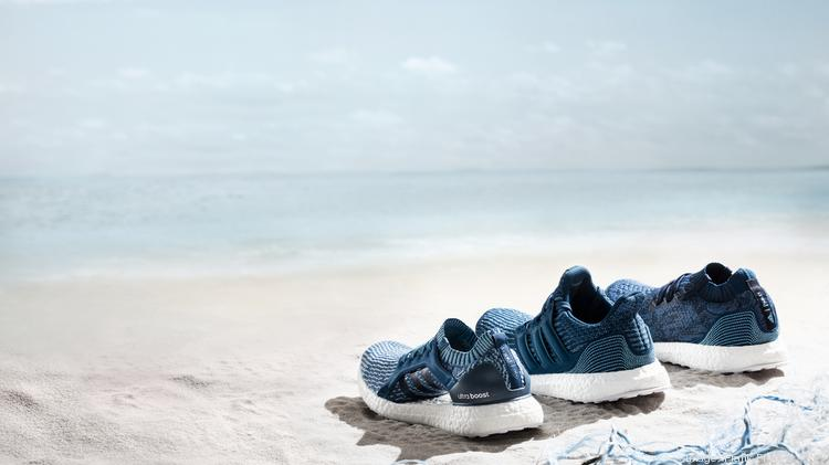 a1437cf06097 Adidas will release three new sneakers made from recycled ocean plastic on  May 10. The