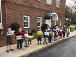 Children, Crisis Control team up on food drive; Caldwell students aid nonprofits