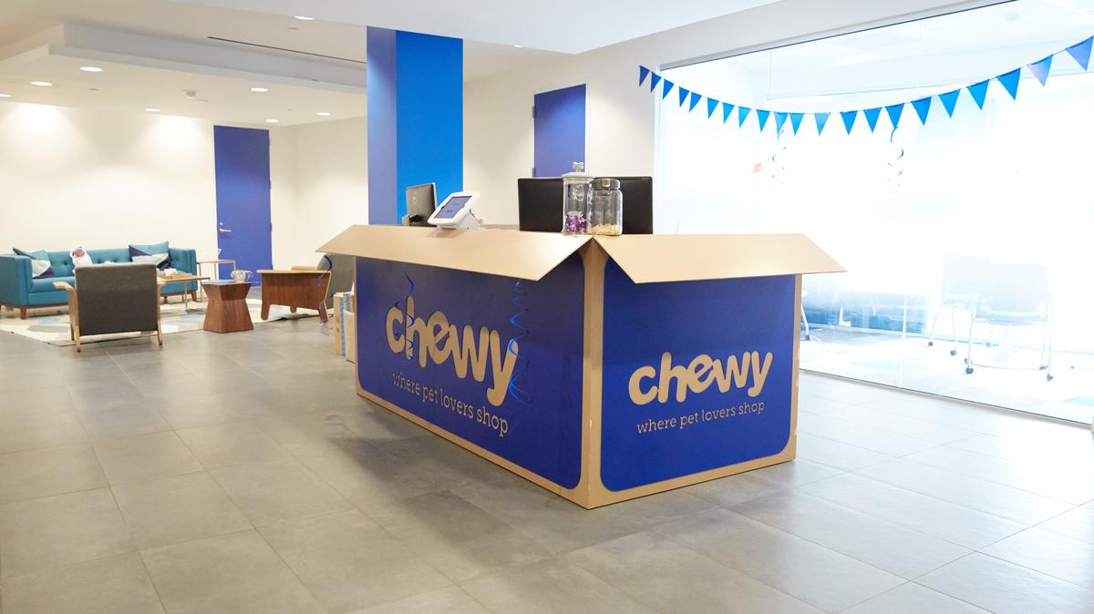 Chewy Inc. lands office location, starts hiring in