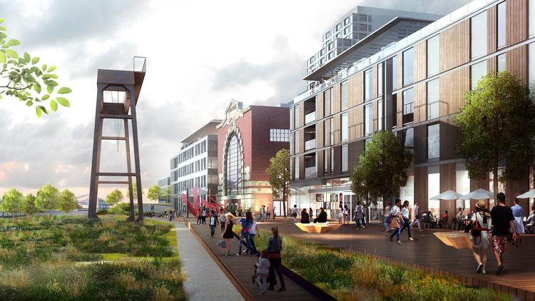 HRP 776 Summer Street LLC, a joint venture of Redgate Real Estate and Hilco Redevelopment Partners, on April 24 filed a letter of intent with the Boston Planning & Development Agency outlining their redevelopment plans for the former Boston Edison power plant at 776 Summer St. in South Boston.