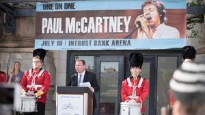 McCartney to perform at Intrust Bank Arena