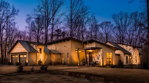 Modern Rustic Custom Home on Firethorne Golf Course (1.6 Acres)