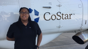 Jessica Broom, aerial research photographer for CoStar Group Inc.