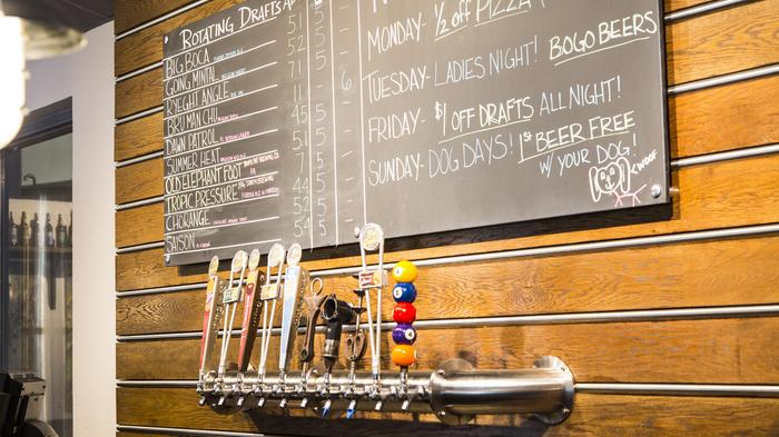 Fat Point Brewing taps