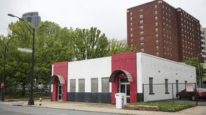 Why is the Hall House in uptown standing vacant?