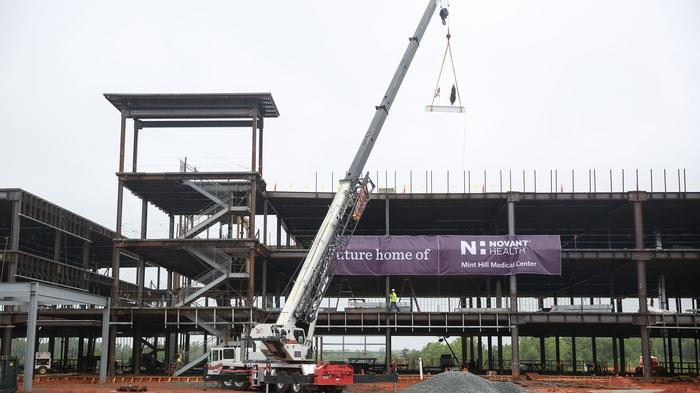 PHOTOS: Novant Health tops out $80M Mint Hill medical campus