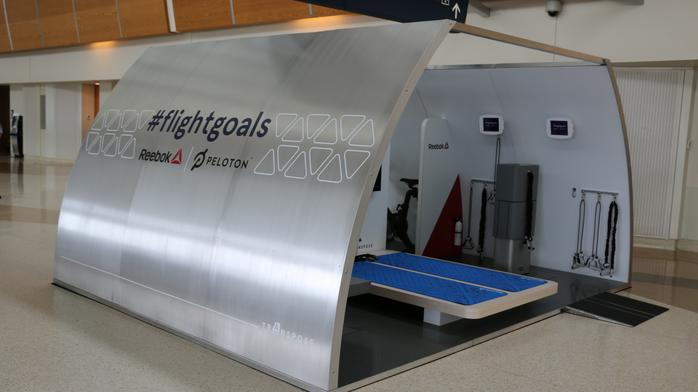 Coffee, tea or an in-air workout? Airbus shows off airplane gym concept (Photos)