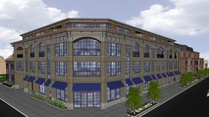 Elmwood Village townhouse project comes back smaller than first proposed