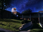 Siena College building observatory with Albany area's largest telescope