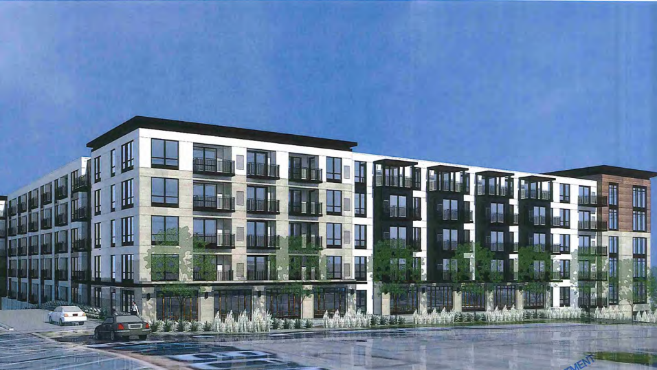 Luxury Apartments For Active Adults Planned On Edina Bus Garage