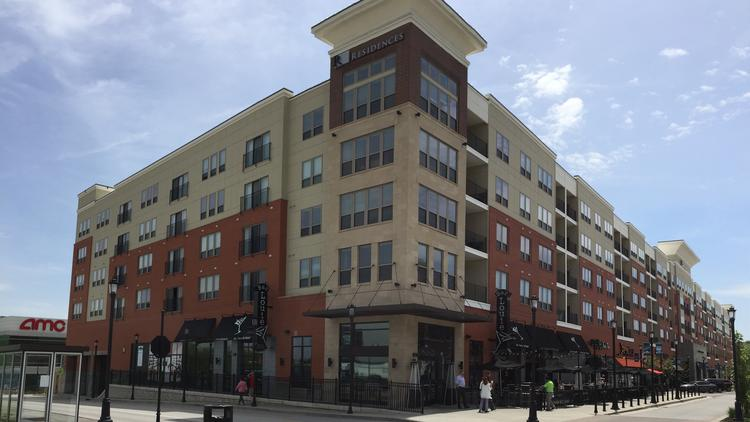 Streets Of St Charles Apartments Sold To Chicago Firm