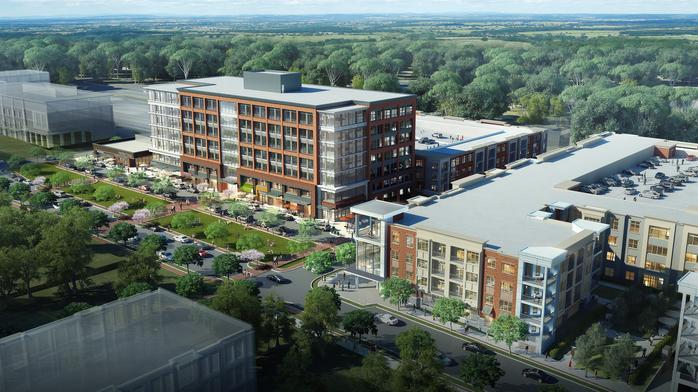 Insurance giant backs huge Cool Springs development