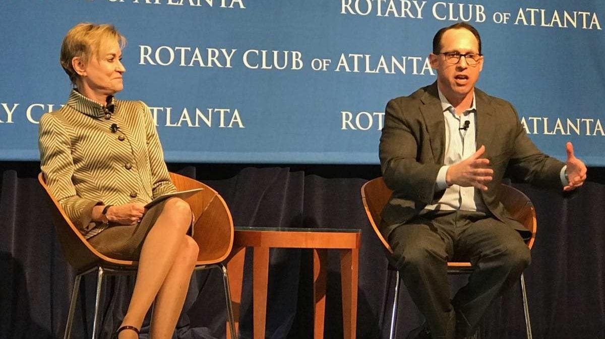 Metro Atlanta Chamber Shifts Leadership Plan Due To At&t's Glenn Lurie  Moving To Dallas  Atlanta Business Chronicle