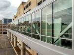 Pedestrian skywalk completed on BJC campus