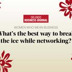 Women Who Mean Business honorees share their best tips for breaking the ice (Video)