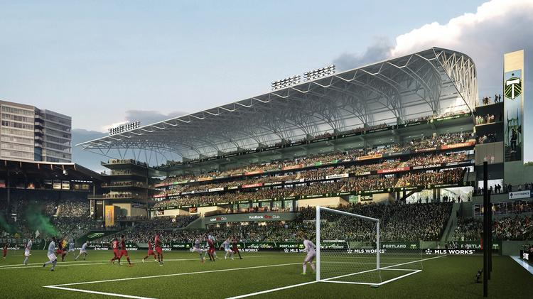 The Cantilevered Roof Would Jut Out Over Most Of New Seats At A Revamped Providence