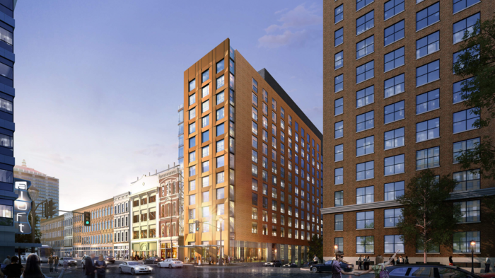 Dual-branded Whiskey Row hotel set to break ground