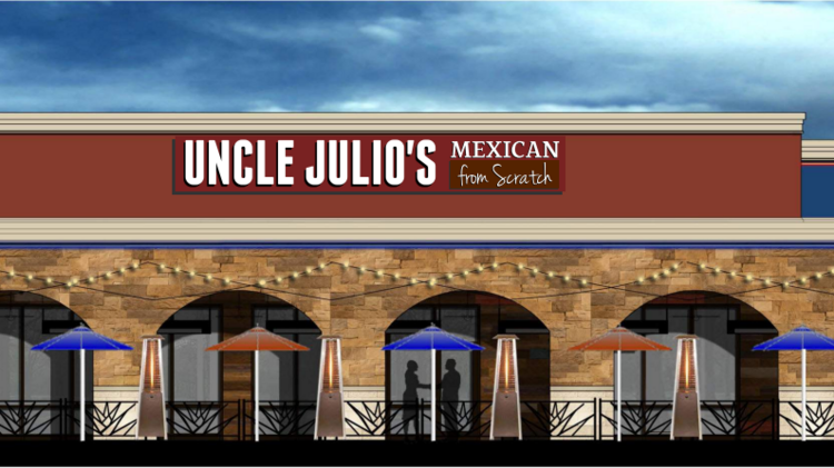 A Rendering Of The Uncle Julio S Slated For Mayfair Mall