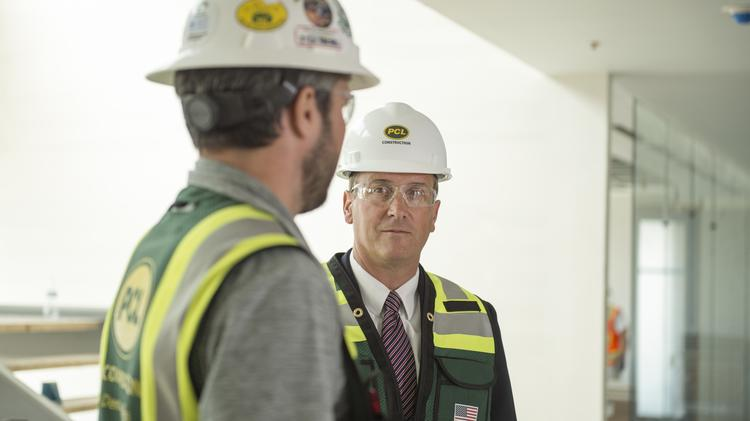 PCL Construction's Michael Kehoe takes the high road in
